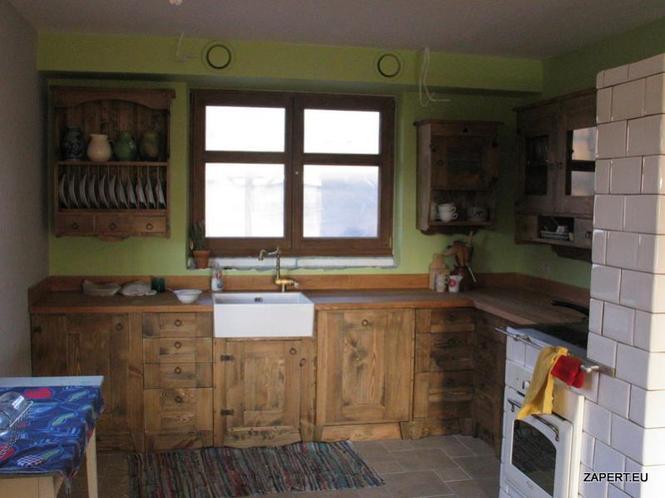 Galerie zdjęć  Kuchnia w stylu rustykalnym  Galerie   -> Kuchnia Drewniana Rustykalna