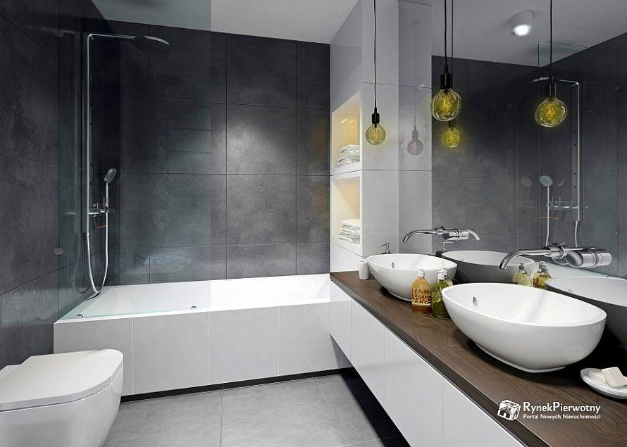 Funkcjonalna łazienka w inwestycji Nowe Bielany 2