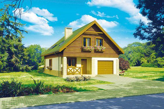 Projekty domów z dachem dwuspadowym