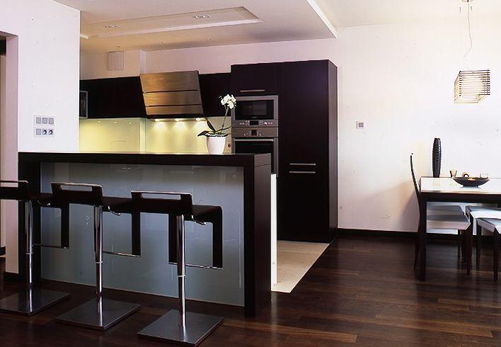 Mebla kuchenne Kuchnia wyspa z barkiem -> Kuchnia Barek Wyspa