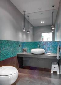 Płytki łazienkowe - aranżacja