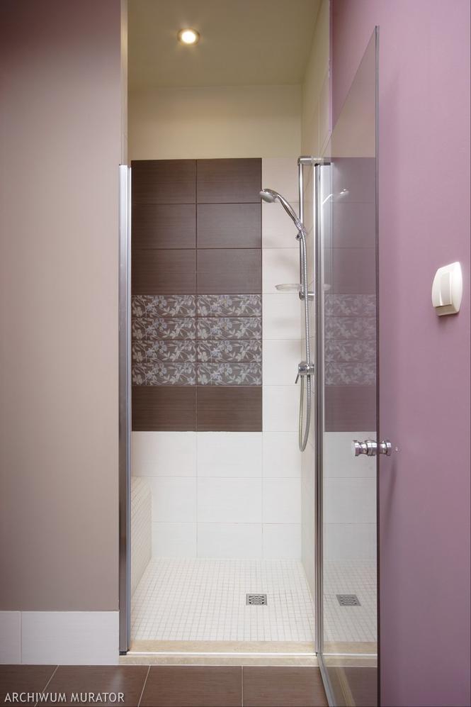 Prysznic bez kabiny i brodzika