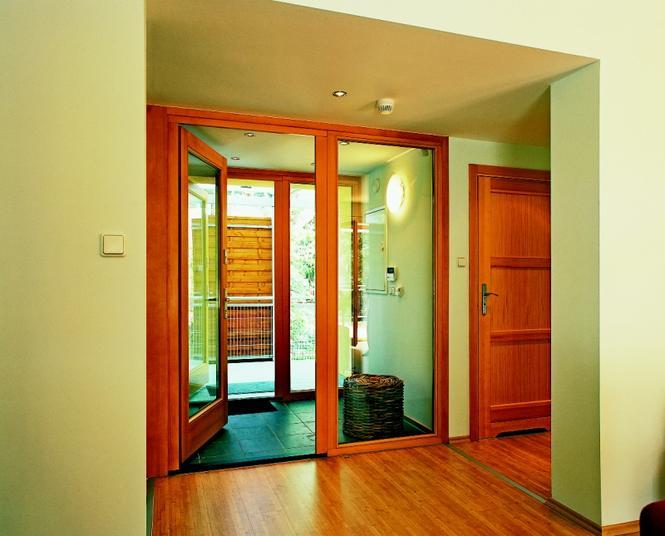 Szerokie drzwi wewnętrzne