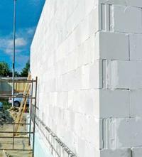 Ściana z silikatów