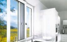 Pomysł na okno w kuchni. Okno przesuwne
