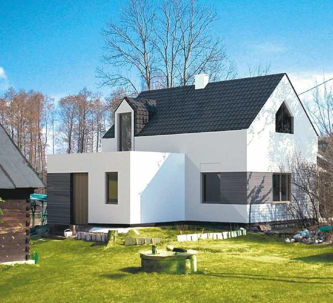 Udana przebudowa domu