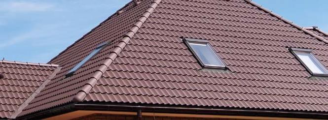 Dachówki cementowe z powłoką ochronno-dekoracyjną