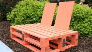 Jak zrobić meble ogrodowe z drewnianych palet?