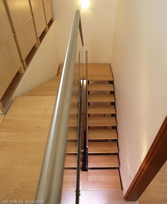 Balkon W Domu Jednorodzinnym: Schody Wewnętrzne: Rodzaje Schodów