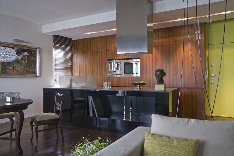 Galeria zdjęć  Kuchnia otwarta na salon powiększy przestrzeń do gotowania M   -> Kuchnia Otwarta Na Salon Wady I Zalety