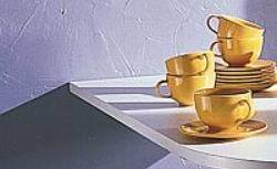 Tynk dekoracyjny lub tapeta - pomysłowa ściana w kuchni