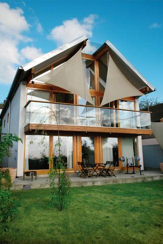 Ekologiczne domy w Anglii